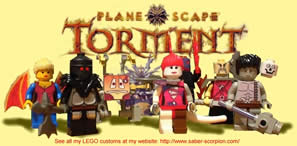 Planescape: Torment In Lego
