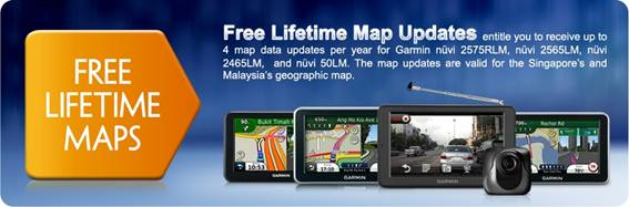 FREE lifetime map update