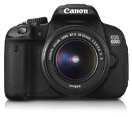 Canon EOS 650D Kit: Body with EF S18-55 IS II