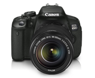 Canon EOS 650D Kit II: Body with EF S18-135 IS STM