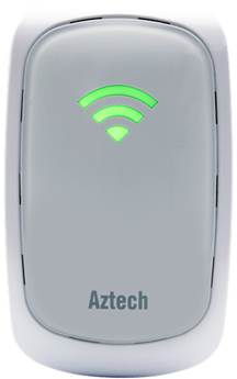 Aztech WL559E Wall-Plugged Wireless-N 300Mbps Repeater