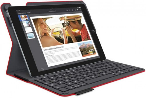 LOGITECH TYPE+ Keyboard Folio for iPad Air 2-Red