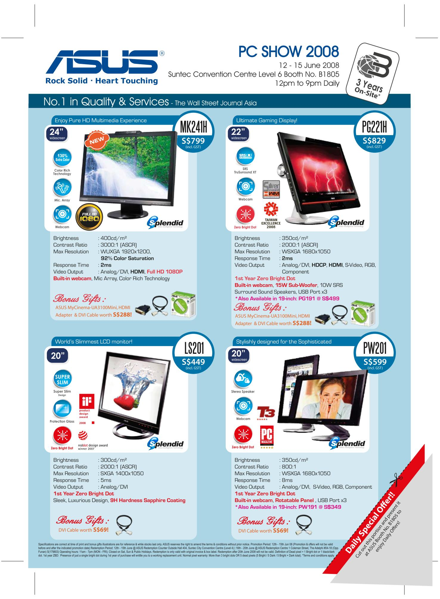 PC Show 2008 price list image brochure of Asus Lcd Back.pdf 01