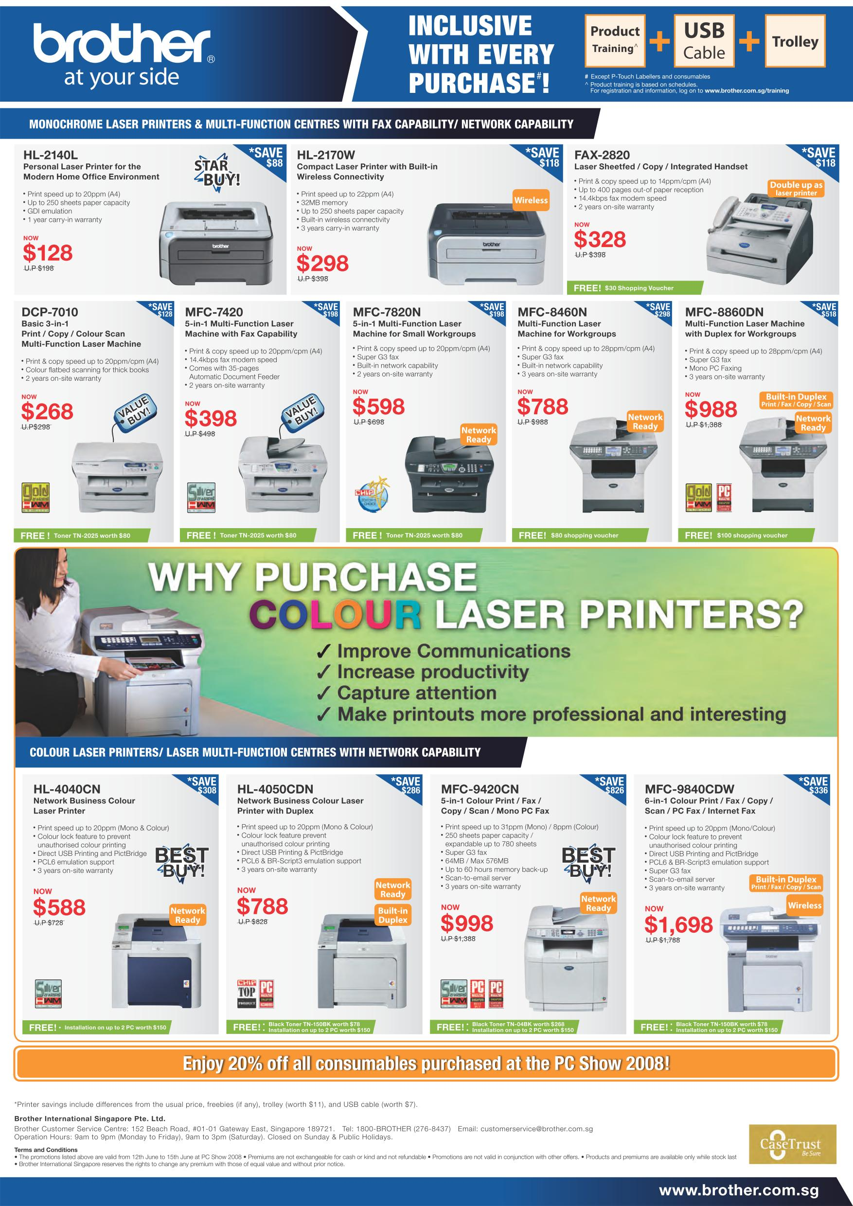 PC Show 2008 price list image brochure of Brother Printers Show.pdf 02