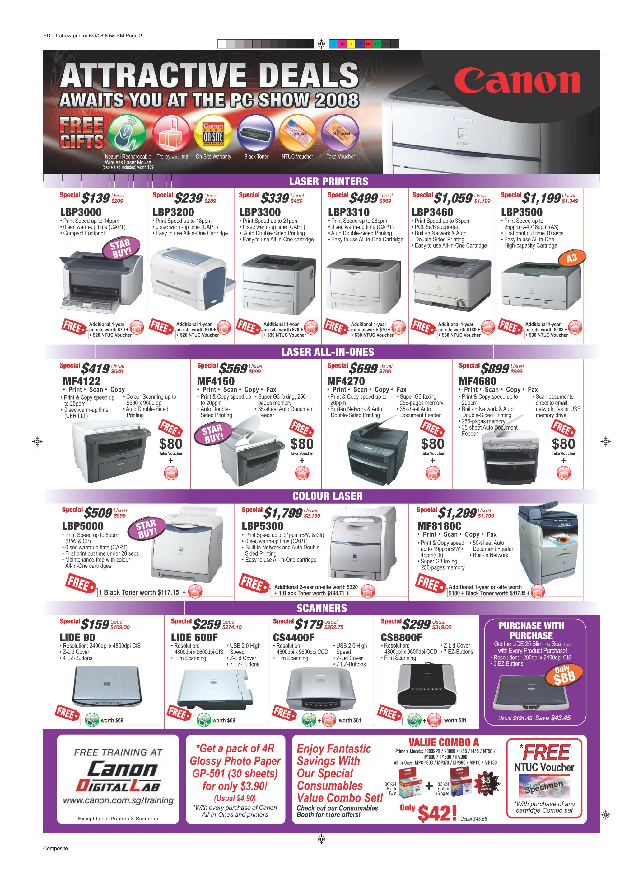 PC Show 2008 price list image brochure of Canon Printers.pdf 02