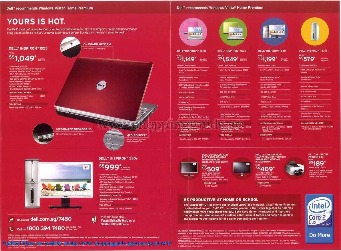 PC Show 2008 price list image brochure of Dell ShoppingGuide.SG-PcShow08-086