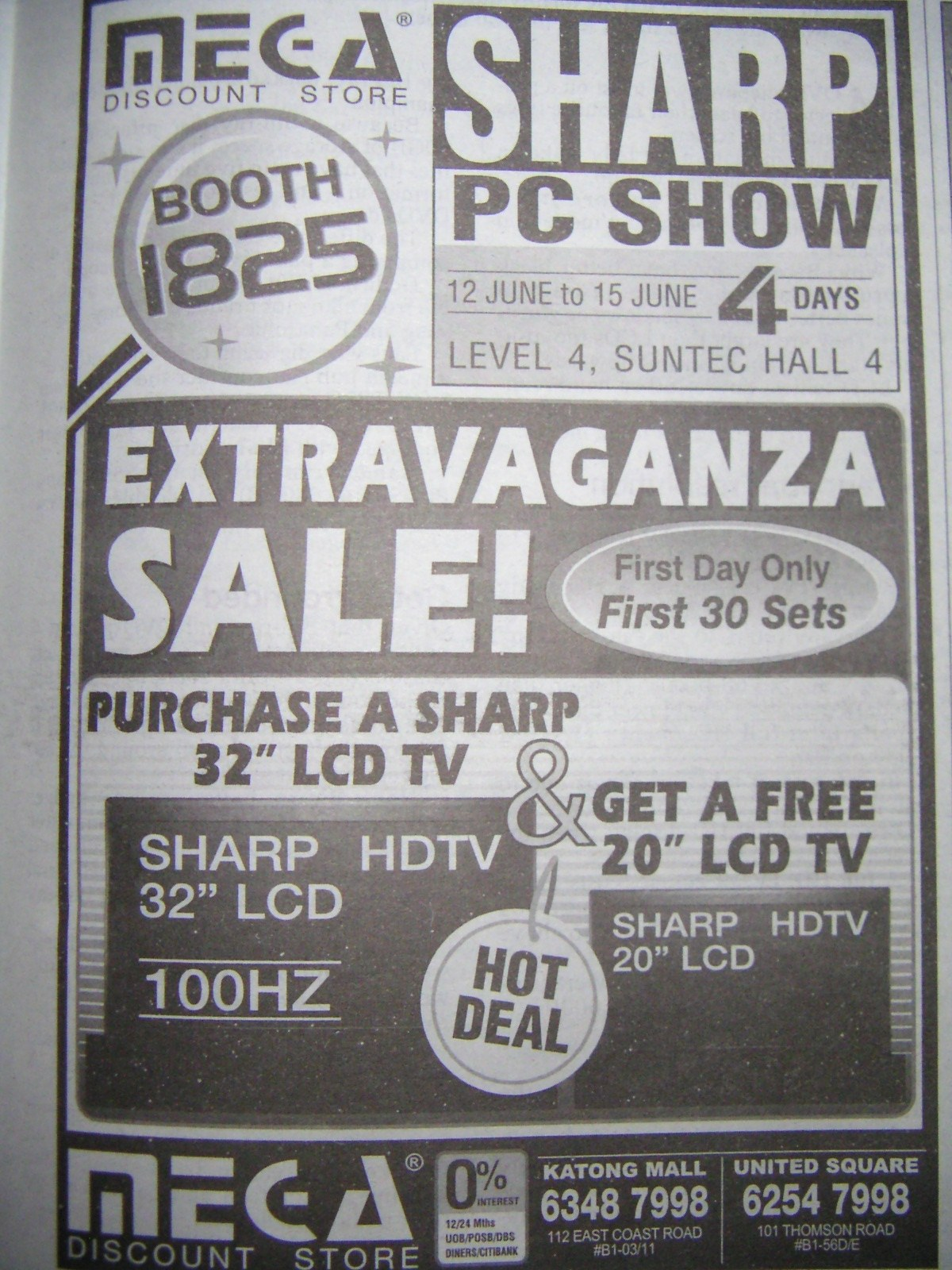 PC Show 2008 price list image brochure of Mega Discount Store