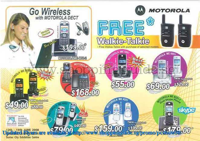 PC Show 2008 price list image brochure of Motorola ShoppingGuide.SG-PcShow08-172