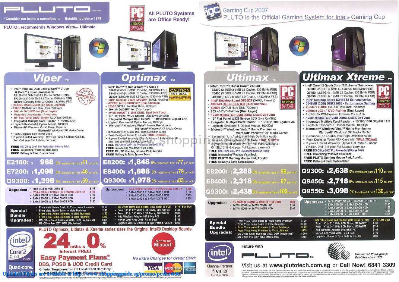 PC Show 2008 price list image brochure of Pluto ShoppingGuide.SG-PcShow08-074