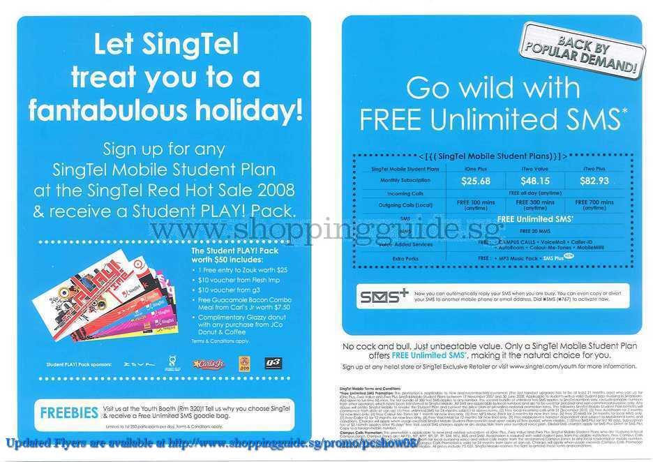 PC Show 2008 price list image brochure of Singtel ShoppingGuide.SG-PcShow08-149