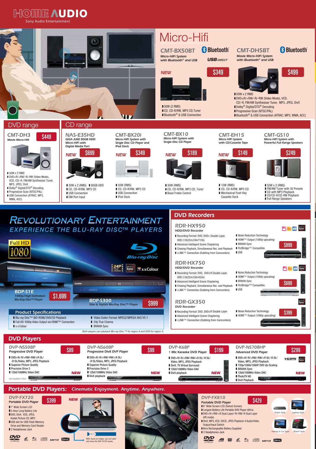 PC Show 2008 price list image brochure of Sony Home Audio.pdf 01