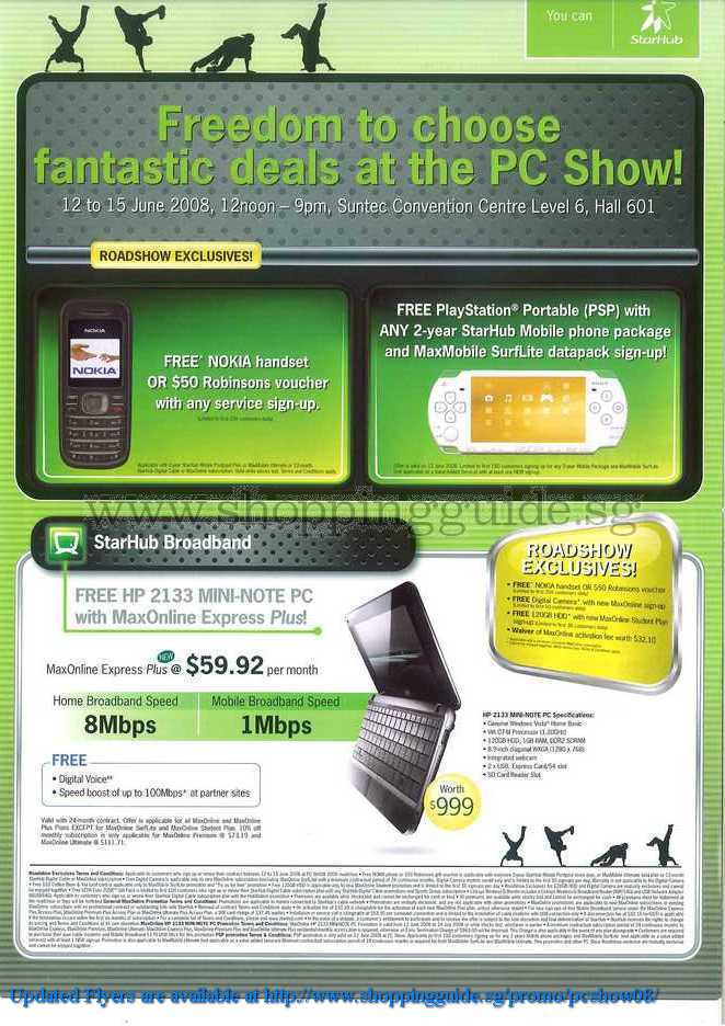 PC Show 2008 price list image brochure of Starhub ShoppingGuide.SG-PcShow08-122