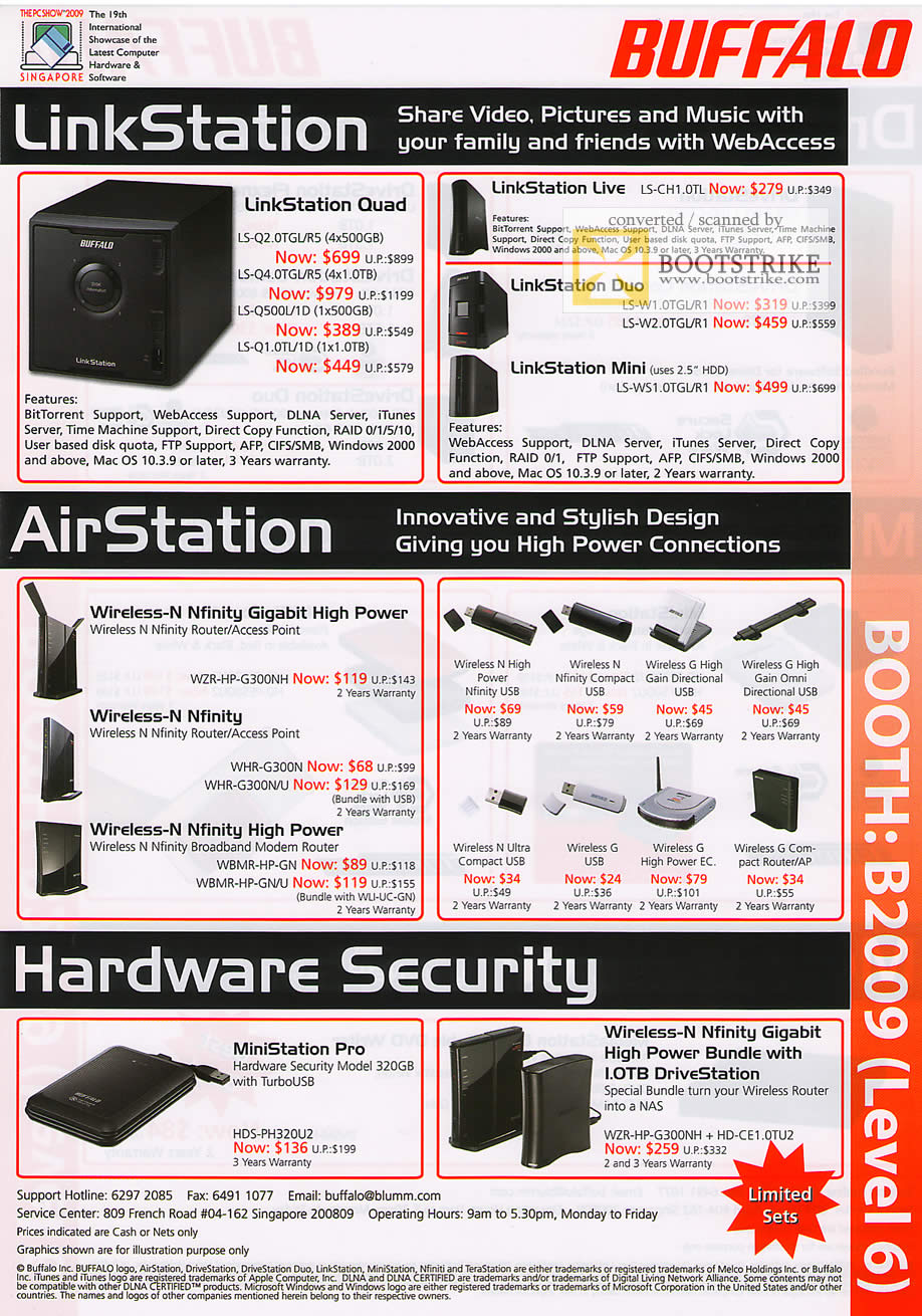 buffalo linkstation airstation hardware security pc show. Black Bedroom Furniture Sets. Home Design Ideas