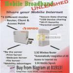 Mobile Broadband Share Sapido 1