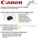 EOS 500D EF 50mm DSLR Promotion