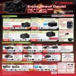 Canon EOS DSLR Cameras High Standard Definition Legria Camcorders