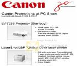 LV-7265 Projector LaserShot LBP 7200cd Printer Promotion
