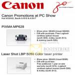Pixma MP628 Laser Shot LBP 5050 Color Printer Promotion