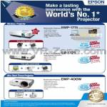 Epson Wireless Projector EMP-1715 EB-1725 EMP-400W
