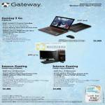 Gateway Gaming P7809g Notebook FX6801 Desktop