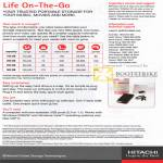 Hitachi Life On-The-Go External Portable Hard Disk Features