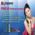 Kingson Free Starbucks Voucher With Purchase