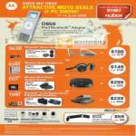 MotoRokr Bluetooth Stereo Wireless Hi-Fi Speaker FM Transmitter
