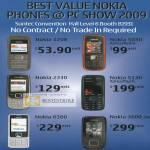 Nokia 1208 5030 2330 5130 6300 3600 Mobile Phones
