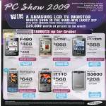 Phones F480 Omnia Pixon Ultra Touch I7110 S3600