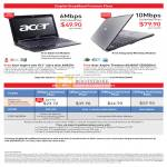 Singnet BroadBand Acer Aspire One Timeline A0531h AS3810T 352G50n