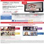 Singnet Mio Home Mio TV LG 42 TrueMotion LCD TV