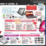 Qosmio F50 G50 X300 Portege M800 Notebooks