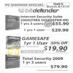 Promotion Internet Security Suite GameSafe Total Security 2009