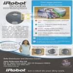 IRobot Scooba Features