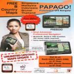 Papago GPS Navigator R6600 R6100