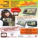 WayWay GPS Navigator HD5001 Q5031 Q4331i