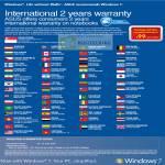 International Two Years Warranty Redemption