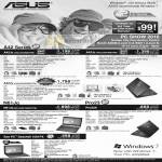 Notebooks A42Jc A42 A42Jv N61Jq Pro23 Pro23A EEE PC Seashell 1001PX Netbook