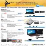 Notebooks Pro23A UL20A 1201T