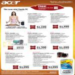Mini Desktop PC Aspire X3950 M1900 M3910 Gaming M7720 Predator G7750