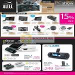 Altec Lansing IPod IPhone Speaker EGear AVLabs MyTube 7 IWalk EPA IPH