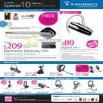 Plantronics Bluetooth Mobile Headset Discovery 975 Explorer 395 210 520 906 Audio DSP