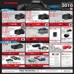 Digital Cameras DSLR EOS 7D 50D 550D 500D 1000D Legria Camcorder HFS200 HF M31 HF R18 FS 36