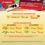 Paper Twin Packs Promotion PGI 5BK SG 201 MP 101 GP 501 PP 201