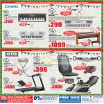 Casio Keyboard Digital Piano OTO Powertap Massager