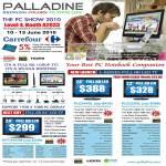 Carrefour Palladine LCD LED TV Monitor L Series EPT2452M PLE2400L PLE2200L