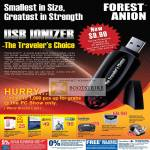 USB Ionizer Forest Anion