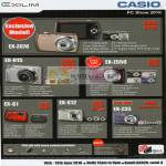 Casio Digital Cameras EX Z670 H15 Z550 G1 S12 Z35