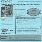 Comat ITIL V3 Foundation Certification Course