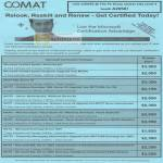 Comat Microsoft Certification Courses MCSA MCTS MCPD MCTS